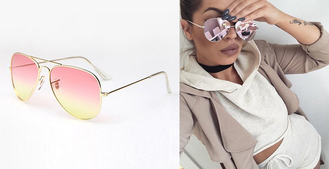Bessie Suglasses Pink/Yellow