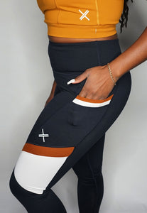 Womens - FIIT High Waist Pocket Leggings - Bottoms - TWOTHREE