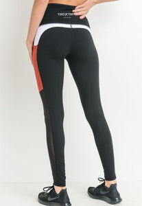 Womens - 'SET' Hightwaist Leggings - Bottoms - TWOTHREE