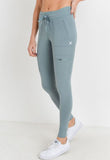 Womens - 'CARGO' Leggings - Bottoms - TWOTHREE