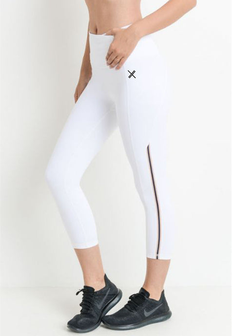 Womens - ICE Highwaist Capri Leggings - Bottoms - TWOTHREE