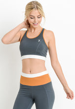 Load image into Gallery viewer, Womens - COMBO Lattice Back Sports Bra - Tops - TWOTHREE