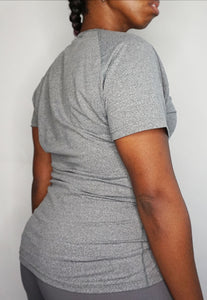 Womens - CLASSIC Sports Top - Grey - Tops - TWOTHREE