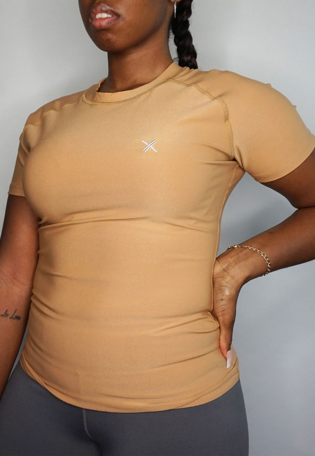 Womens - CLASSIC Sports Top - Nude - Tops - TWOTHREE