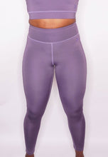 Load image into Gallery viewer, Womens - CROSS High Waist Leggings - Muave - Bottoms - TWOTHREE