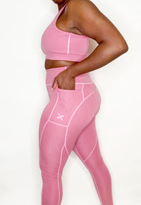 ENERGY High Waisted Leggings - Pink