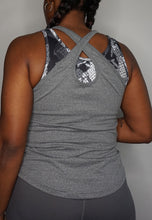 Load image into Gallery viewer, Womens - READY Vest - Grey - Tops - TWOTHREE