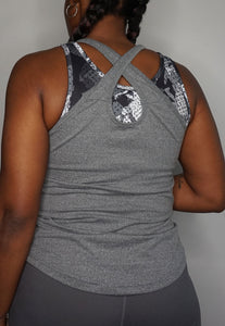Womens - READY Vest - Grey - Tops - TWOTHREE