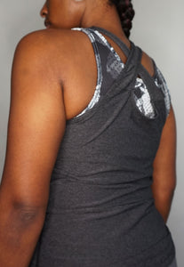 Womens - READY Vest - Charcoal - Tops - TWOTHREE