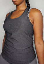 Load image into Gallery viewer, Womens - READY Vest - Charcoal - Tops - TWOTHREE