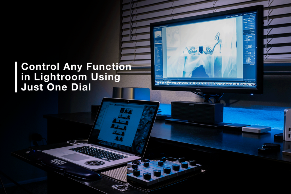 Control any function in Lightroom using just one dial