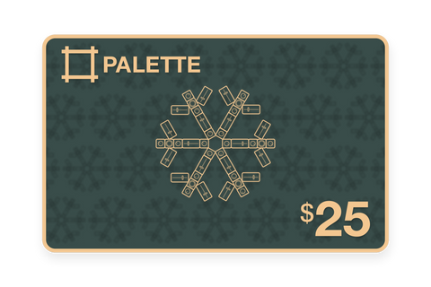 Palette $25 Gift Card