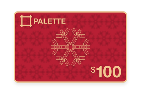 Palette $100 Gift Card