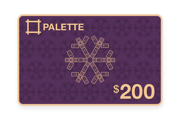 Palette $200 Gift Card