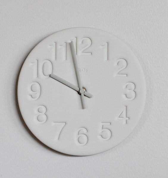 Lemnos Earth Wall Clock