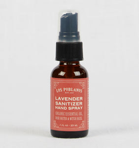 Los Poblanos Lavender Hand Sanitizer Spray
