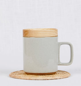 Hasami Porcelain Wooden Lid and Coaster