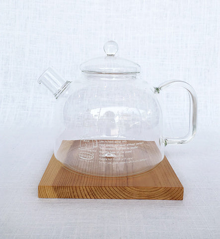 Glass German Water Kettle