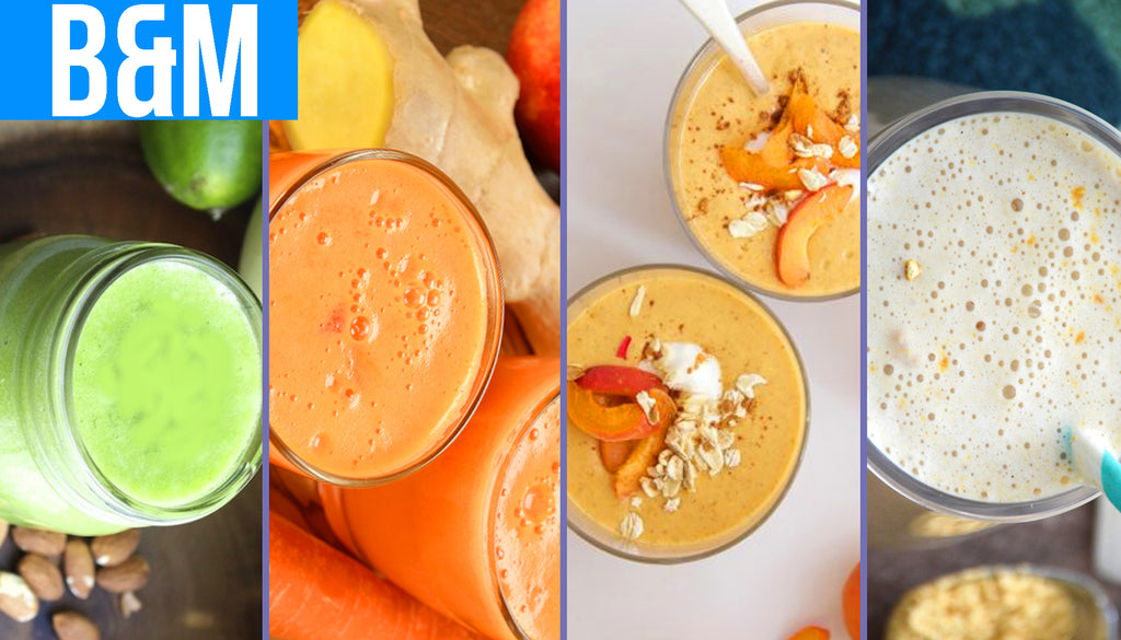 Recipes for Four of the Yummiest Lactation Boosting Smoothies for Moms on the Go.