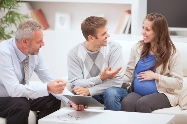 consulting a doctor about a birth plan