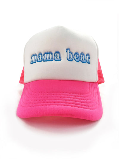 Mama Bear Trucker Hat Hat Bun Maternity Nursing Apparel