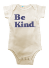 Be Kind Organic Baby Onesie Baby Bun Maternity Nursing Apparel 0-3 natural