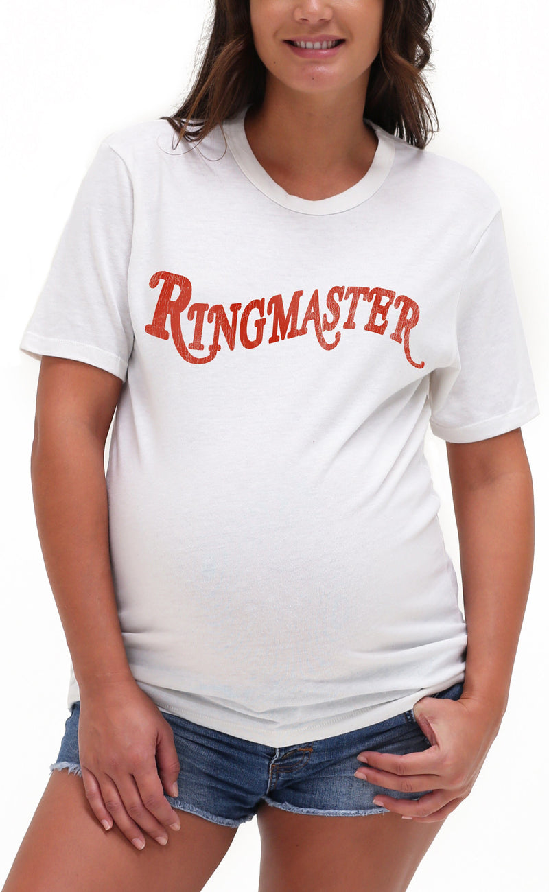 Ringmaster Triblend Graphic Tee Shirt Tee Shirt Bun Maternity Nursing Apparel