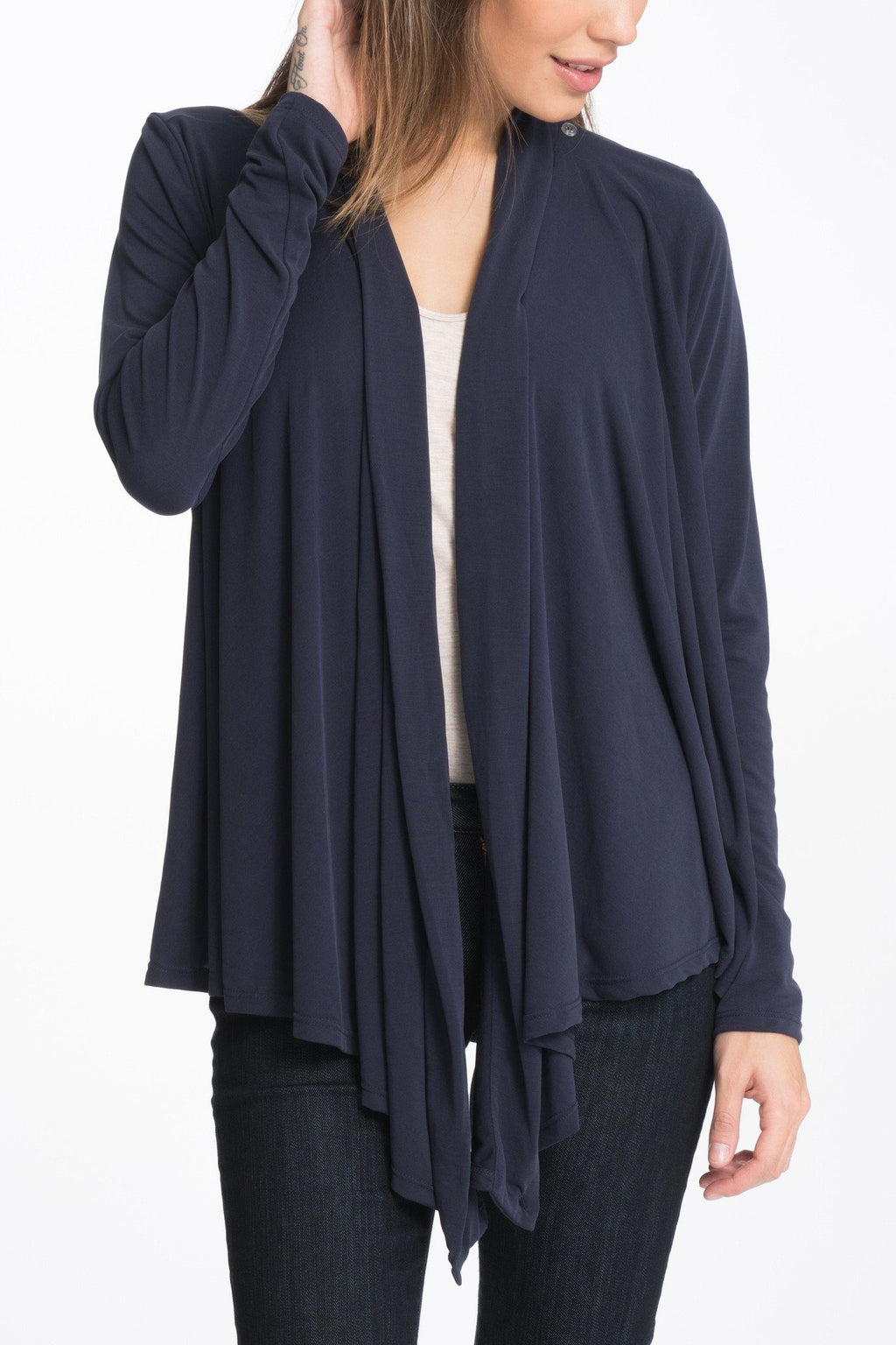 So Soft Three Ways Maternity Nursing Wrap Cardigan Wrap Bun Maternity Nursing Apparel