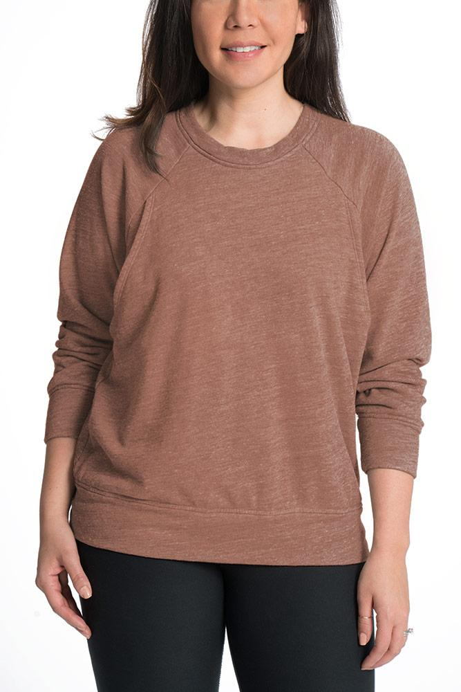Relax Maternity Nursing Pullover - 6 Colors Sweater Bun Maternity Nursing Apparel small 2/4 desert rose