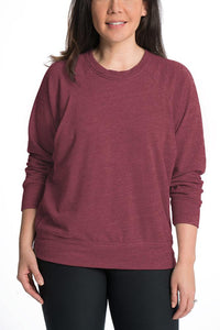 Relax Maternity Nursing Pullover - 6 Colors Sweater Bun Maternity Nursing Apparel extra large 14 marsala