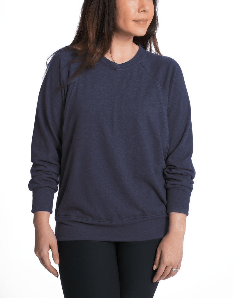 Relax Maternity Nursing Pullover - 6 Colors Sweater Bun Maternity Nursing Apparel small 2/4 navy