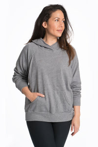 Relax Maternity Nursing Hoodie - 7 Colors Hoodie Bun Maternity Nursing Apparel medium 6/8 heather grey