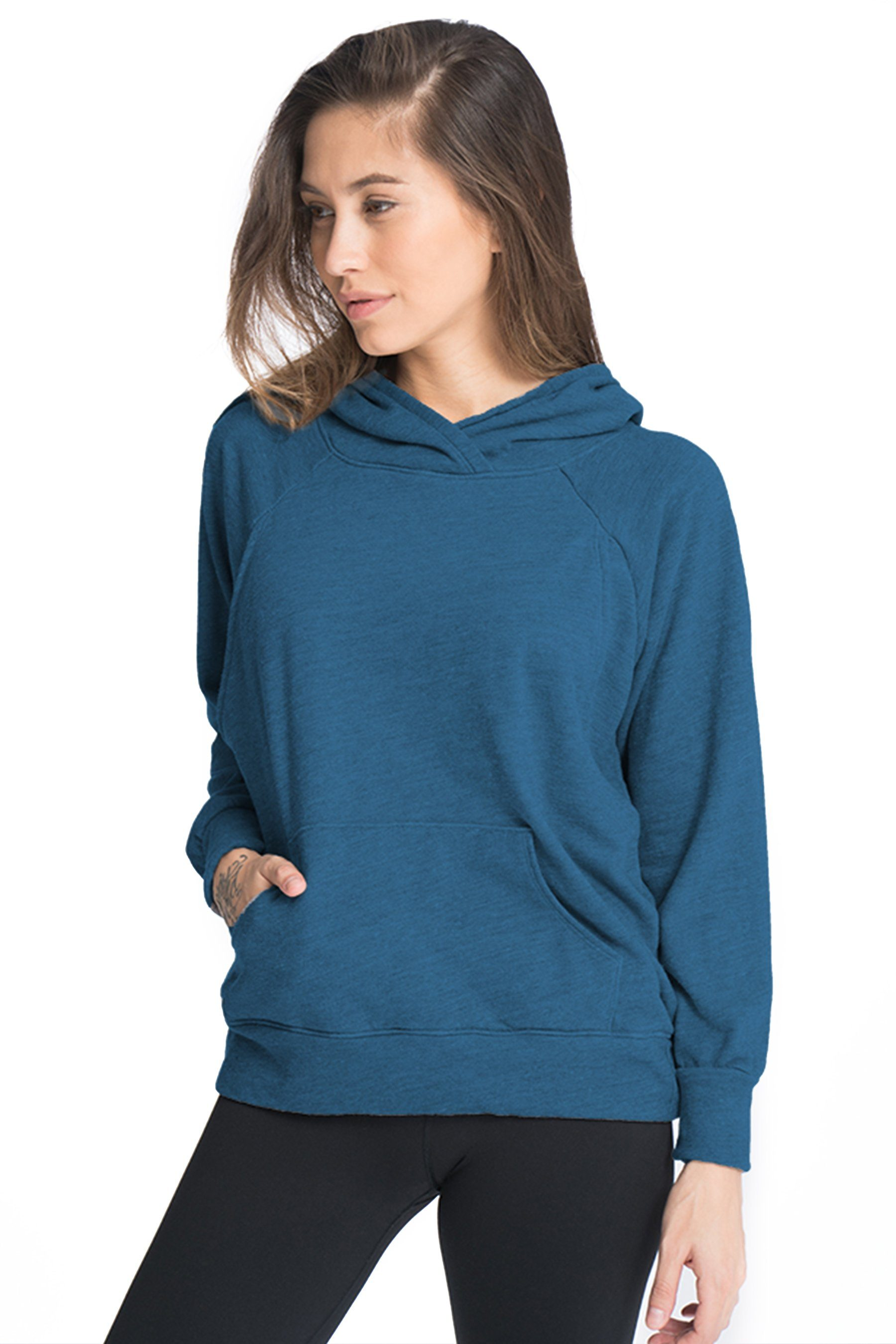 Relaxed Daily Nursing Hoodie Hoodie Bun Maternity Nursing Apparel