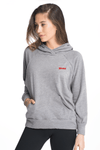 Relaxed MAMA Nursing Hoodie Hoodie Bun Maternity Nursing Apparel small heather gray