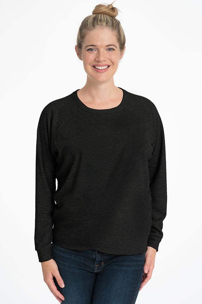 Tulip PopUp Pullover Sweater Bun Maternity Nursing Apparel