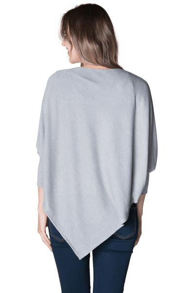 Asymmetrical Maternity Nursing Poncho Poncho Bun Maternity Nursing Apparel