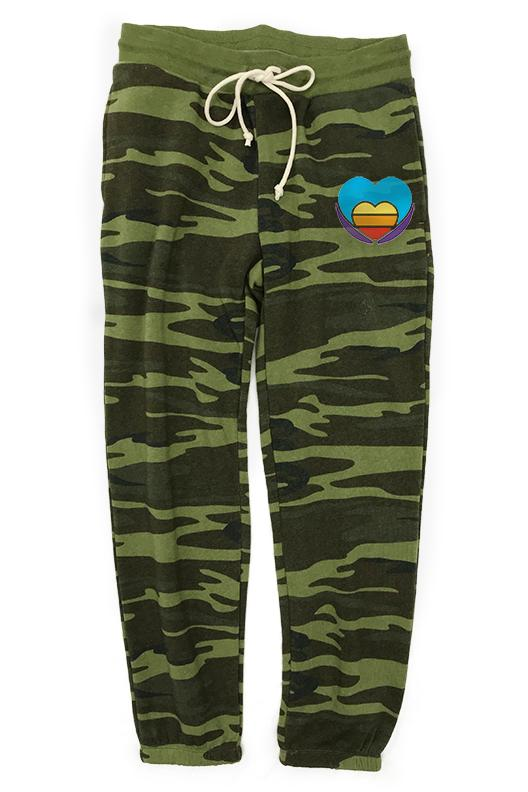Ready to Roll Camo ECO Lounge Sweatpant Pant Bun Maternity Nursing Apparel