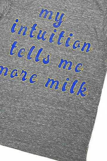 Mom Intuition Triblend Graphic Tee Shirt Tee Shirt Bun Maternity Nursing Apparel
