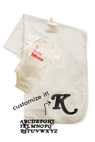 Baby Starter 3pc Set - CUSTOMIZE IT! Baby Bun Maternity Nursing Apparel