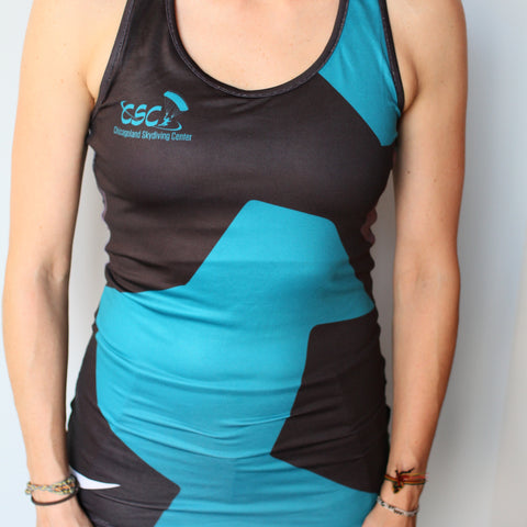 Ladies Racer Yoga Tank