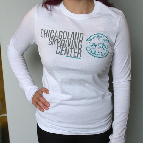 Ladies 1968 Long Sleeve Tee
