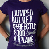"Ladies Vintage ""I Jumped"" Tee"