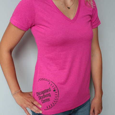 Ladies V-Neck Performance Tee