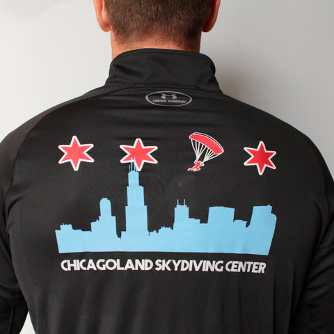 Chicago Flag Quarter Zip Pullover