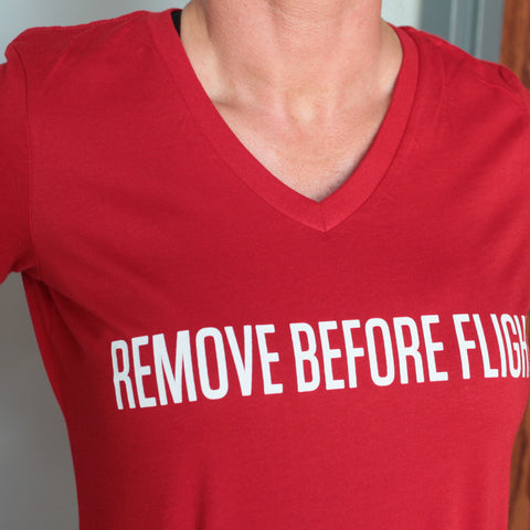 Ladies Remove Before Flight Tee