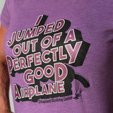 "Ladies Retro ""I Jumped"" Tee"
