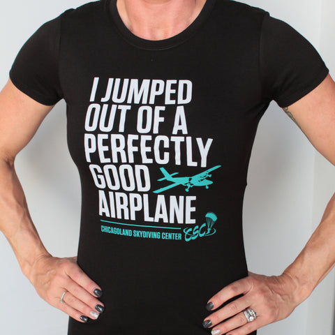"Ladies Bold ""I Jumped"" Tee"