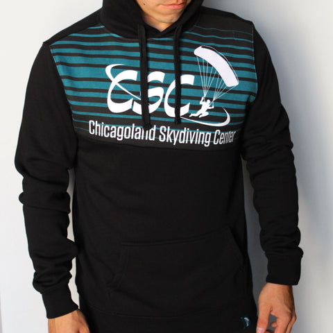 CSC Stripe Pullover Hoodie