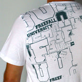 Freefall University Graffiti Tee