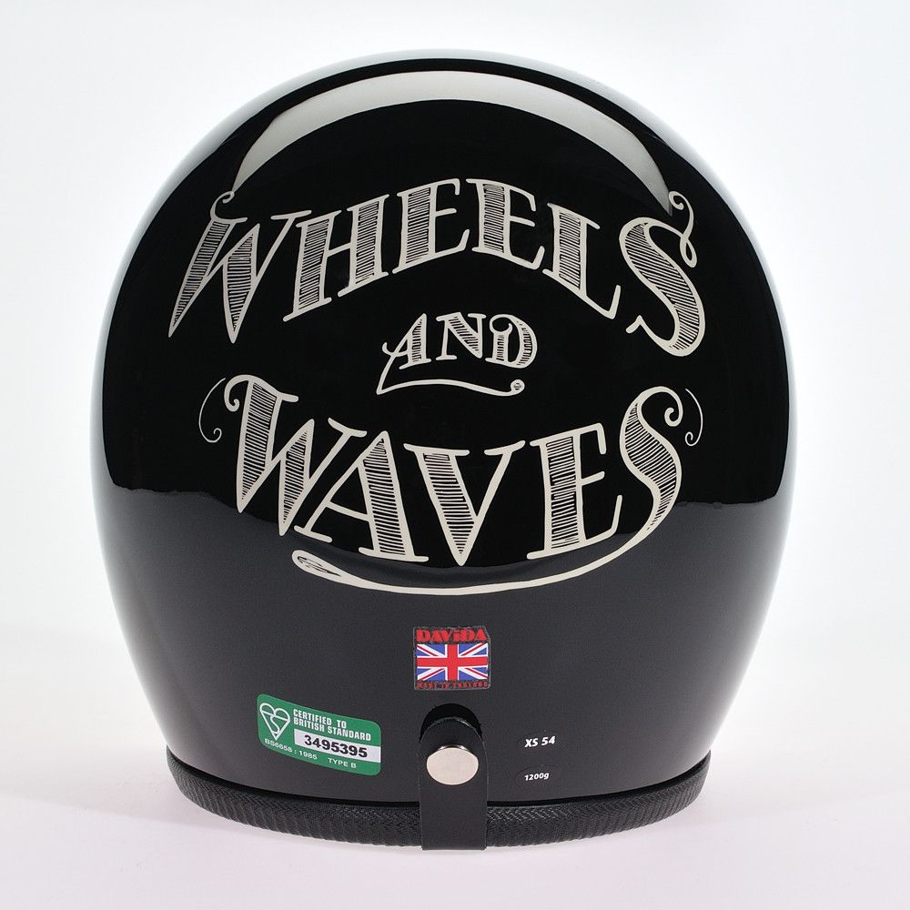 NOIR CREAM WHEELS AND WAVES - Speedwear Ltd